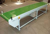 mobile flat belt conveyor