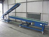 belt conveyor vehicle loader and unloader