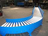 roller bend for gravity conveyor