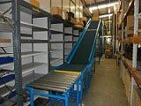 Powered Belt Conveyor for mezzanine floor