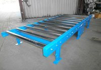 Conveyors driven by chains