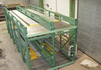 Two Tier pallet handling system