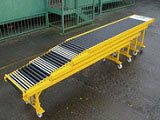 Gravity vehicle loader/unloader and expandable conveyor system