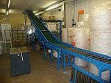 Mezzanine Inter-Floor System with powered belt