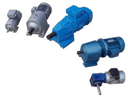 geared motor units and drum motors